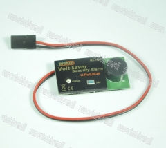 Prolux 1417 Volt-Saver Low Voltage 15-25V 5s 6s Lipo Battery Alarm for RC Airplane