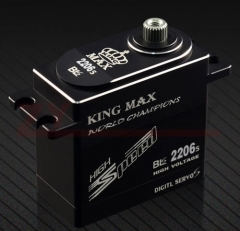 Kingmax BLS2206 69g FULL CNC ALUMINIUM STANDARD DIGITA LBRUSHLESS SERVO FOR RC CAR PLANE