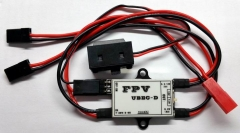 1pc FPV UBEC-D 5.2V/12V 3A BEC Negative Booster Step-down Transformer Power Supply for Transmitting/ Gimbal/ Flight Control