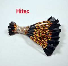 150mm Y Style Servo Extension For Hitec Plug ( 5pcs )