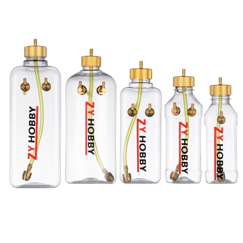 1pc 260ml 360ml 500ml 700ml 1000ml Transparent Plastic Fuel Tank For Gas RC Airplane