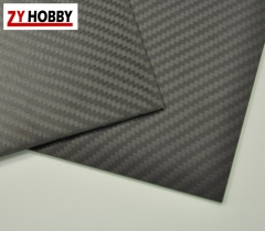 1.6mm Thickness Matte Surface Carbon Fiber Plate Multi-size