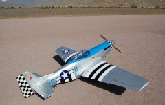 Mustang 96inch/2438mm 100cc Gasoline RC Model Airplane 3D Aerobatic Aircraft