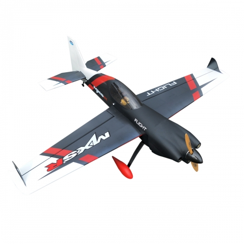 MXS-R 64inch/1625mm 20cc Gasoline Remote Control Plane RC Aircraft Kits ARF Balsa Wood Black