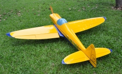 Silence Twister 95inch/2413mm 50cc Gasoline Remote Control Balsa Wood RC Airplane Kits ARF Oracover Film