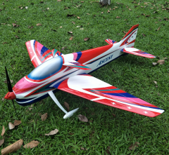 Designed by World Champion Naruke ASCENT 120 1797mm F3A Electric Fixed Wing Aircraft Airplane Model
