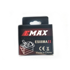 2pcs EMAX ES08MAII 12g Mini Metal Gear High-Speed Servo Analog Servo Upgrade Version
