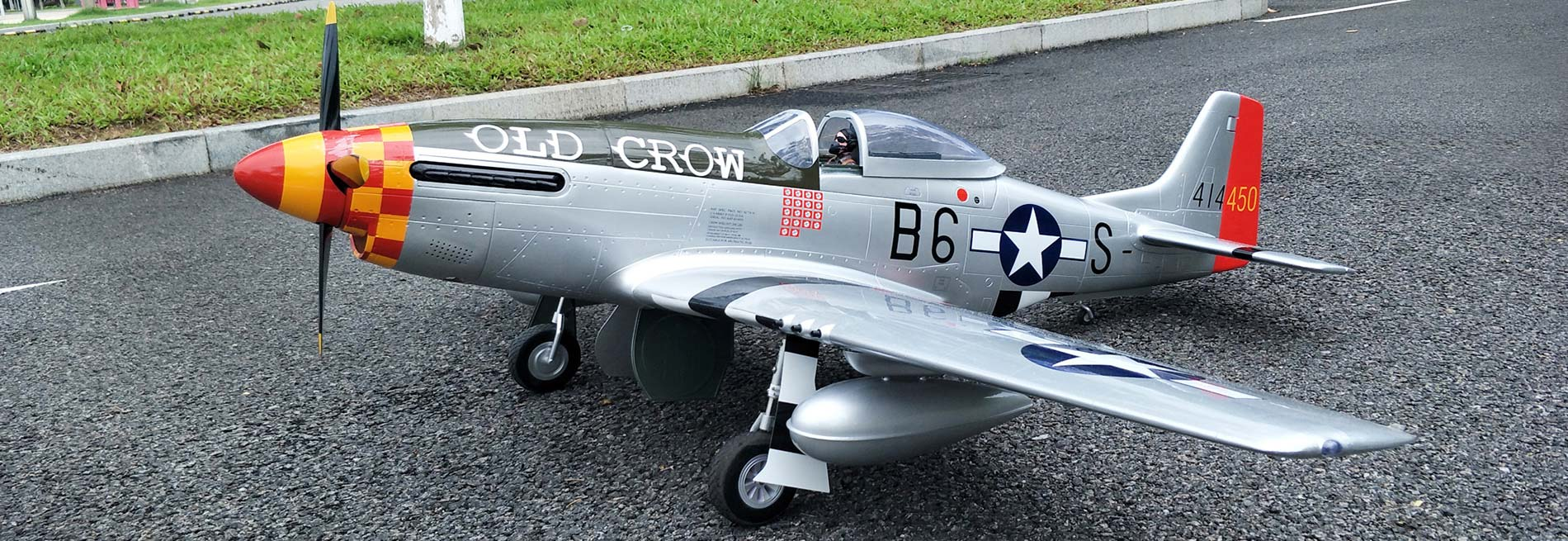 P-51 OLD CROW Scaling