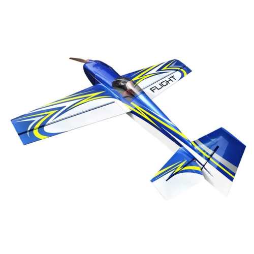 Blue / Red Slick 70inch/1778mm 70E Balsa wood  Electric 3D RC Airplane Fixed -Wing Aircraft