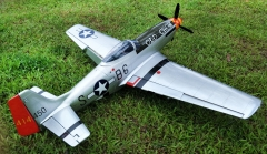 P-51 Mustang 68inch 20CC Electric/Gasoline Composite Fuselage Scale Model Airplane RC Aircraft Fixed Wing Plane ARF