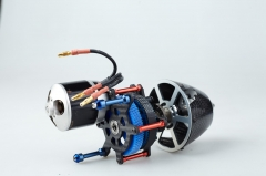 Contra Rotating Propeller Drive System for use in F3A Pattern Competition