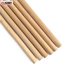 Beech Wood Sticks Diameter from 5mm to 35mm  - 10pcs