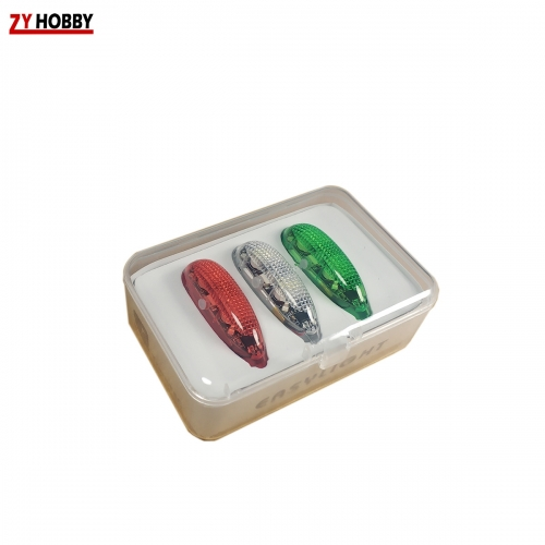 Easylight Chargable White/Red/Green LED Lights Ver2