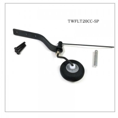 Carbon Fiber Tail Wheel kit for 20cc Plane