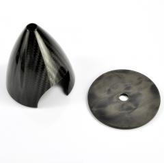 NO CUTS Carbon Fiber Spinner ( 1.75~7inch)