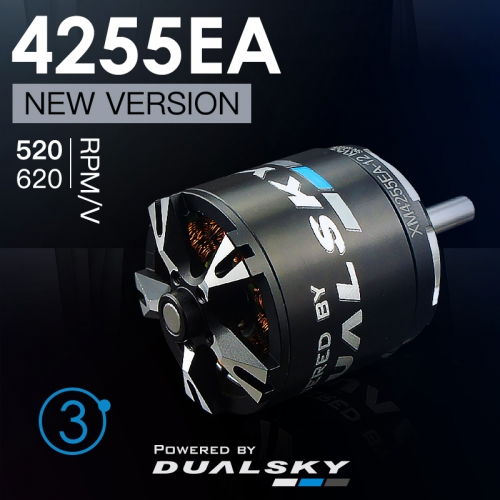 DUALSKY XM4255EA Version 3 RC Model Burshless Motor 620/520kv
