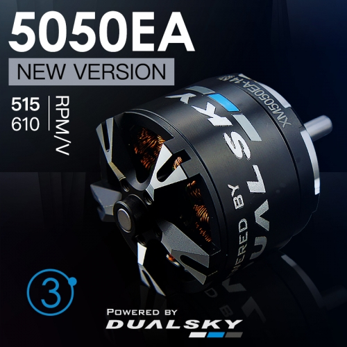 DUALSKY XM5050EA Version 3 RC Model Burshless Motor 610/515kv