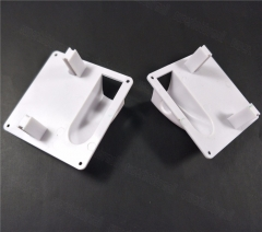 1Pair Plastic White RC Servo Covering Plate Cover Board