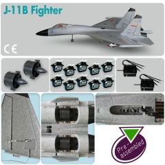 J-11B Fighter (Pre-assembled Combo)