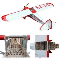 Electric Airplane 6CH 87.4in/2222mm Wooden Fixed Wing