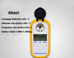 Digital battery/antifreeze refractometer