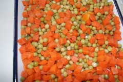 Canned Green peas & Carrot