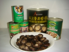 Canned PO-KU Mushroom whole