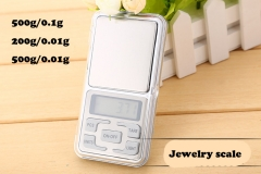 Pocket Jewelry digital Scales 500g/0.1g,200g/0.01g,500g/0.01g