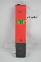 Portable PH meter 0.00-14.00 with ATC,with backlight