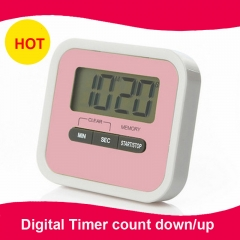 Digital Timer count down/up with magnet,with holder  for kitchen,lab
