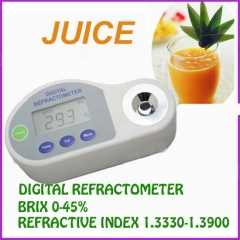 Pocket Digital Refractometer for brix 0-45%