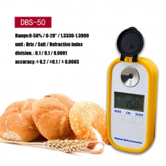 2 in 1 brix & Salt Digital refractometer for food industrial