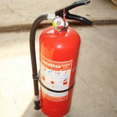Plastic seals for fire extinguishers