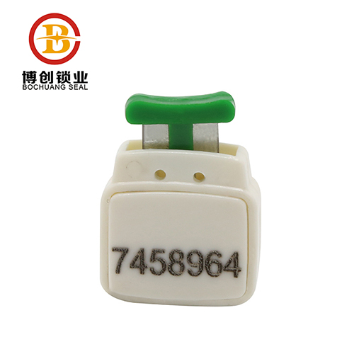 Custom High Quality Materials One-time Use Plastic Meter Seal