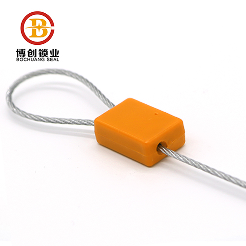 Tamper evident high security aluminium alloy cable seals
