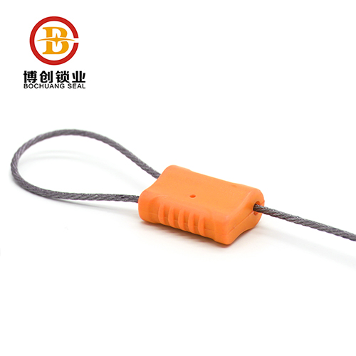 Container cable seals with high security