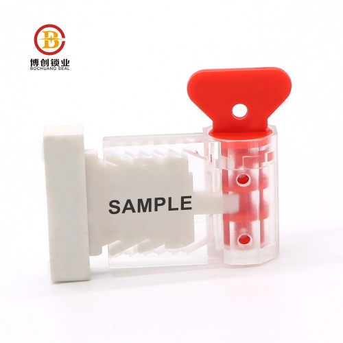 one time used plastic indicative meter seal with low price
