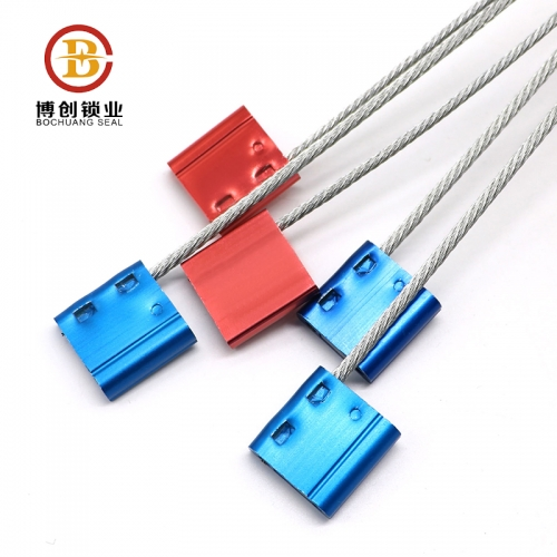 tamper proof intermodal cable lock seals abs wrapped customs cable seal