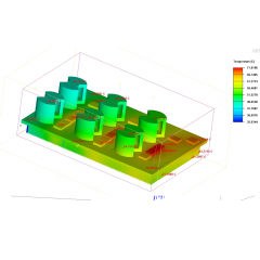 Experience in Thermal Design of Electronic Devices