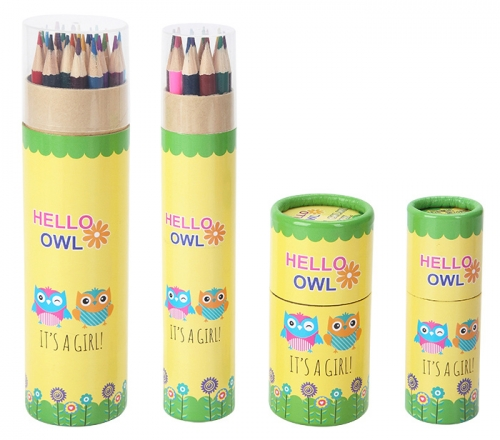 Owl Pencil Set