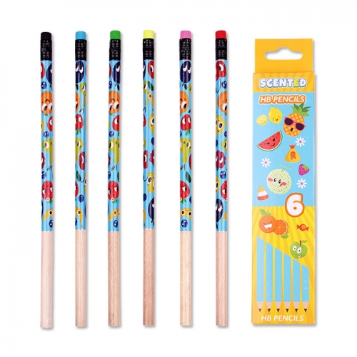 Scented Pencil Pack X6