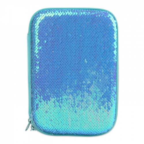 Reverse Sequin Hardtop Pencil Case