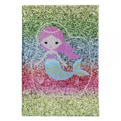 Glitter Mermaid Notebook