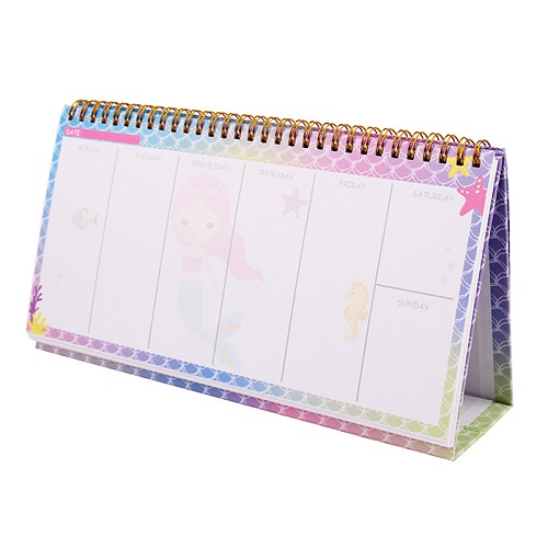 Mermaid Weekly Planner