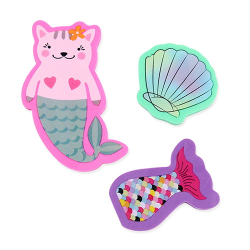 Mermaid Erasers - Mini