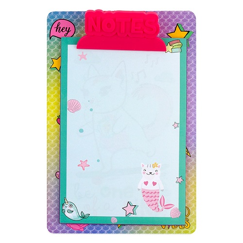 Mermaid Clipboard & Notepad