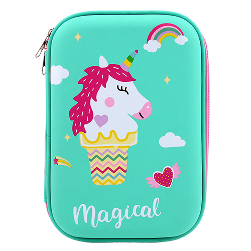Hardtop Pencil Case - Unicorn