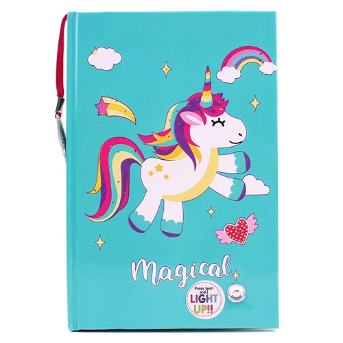 Light-Up Unicorn Journal