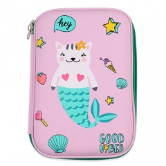 Hardtop Pencil Case - Mermaid