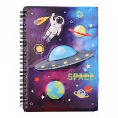 3D Galaxy Notebook